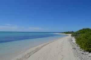 Empty Beach: Dry Tortugas National Park