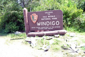 Our welcome to Windigo.