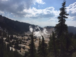 Bumpass Hell thermal activity