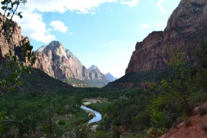 View from Lower Emerald Pool trail