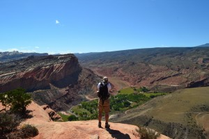 View from Rim Overlook Trail