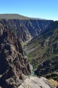 Black Canyon of the Gunnison, from the South Rim